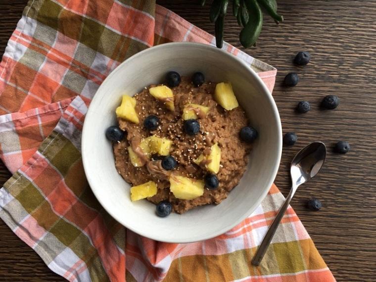 porridge-schoko-rezept-gesunde-ernährung-tipps-food-vegan
