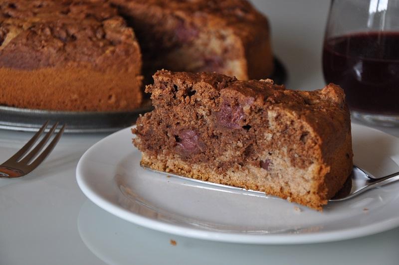 marmorkuchen-cake-vegan-kirschen-cherrys-rezept-recipe